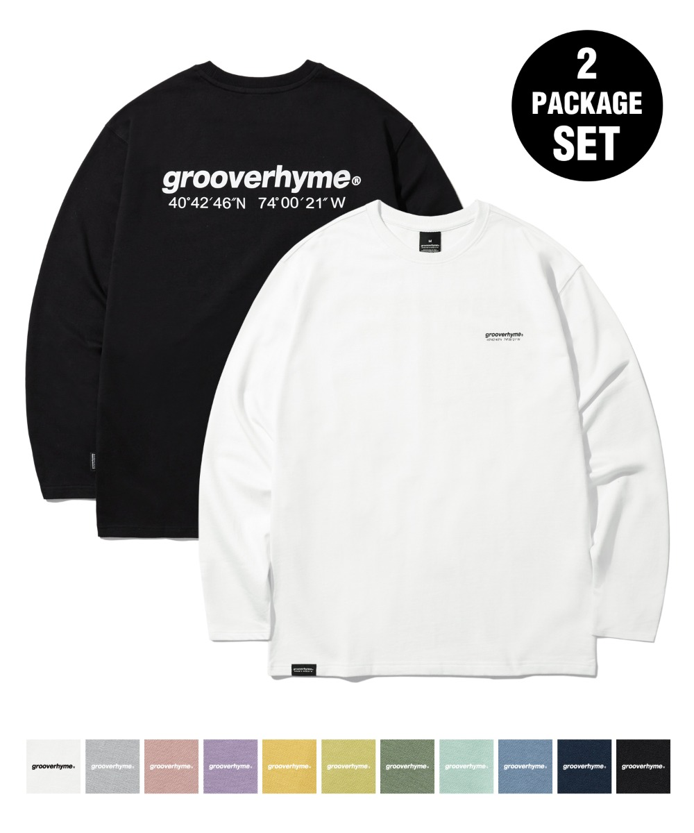 [사은품] [1+1] NYC LOCATION LONG SLEEVE T-SHIRTS (11COLOR) [LROFCTR721M]