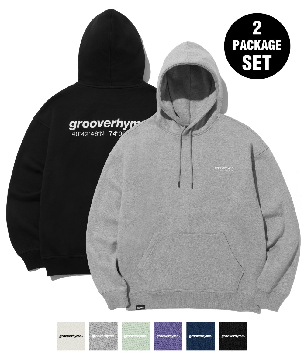 [사은품] [1+1] NYC LOCATION HOODIE (6color) [LROWCTH731M]