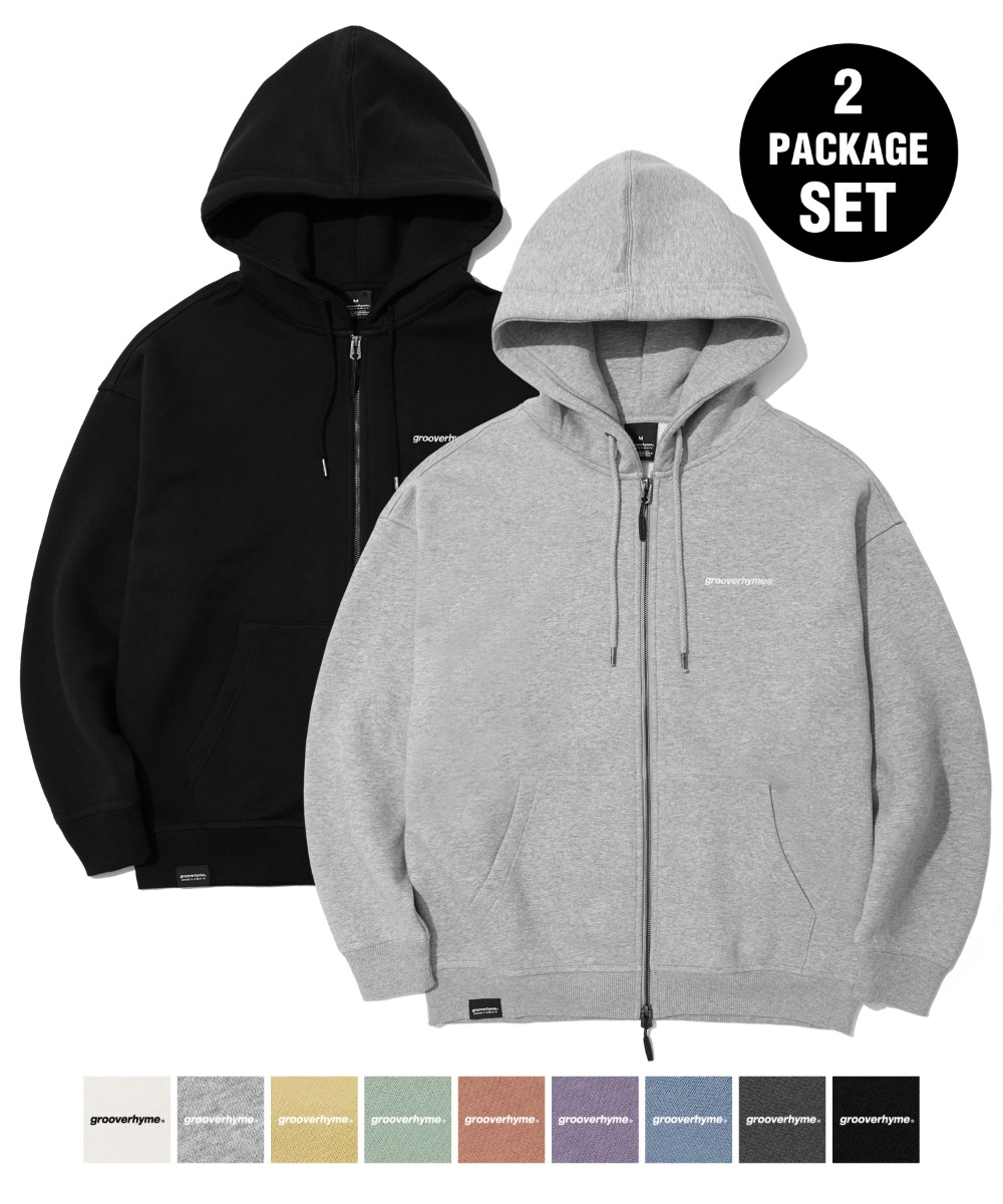 [사은품] [1+1] NYC LOCATION HOOD ZIP-UP (9color) [LROWCTZ742M]