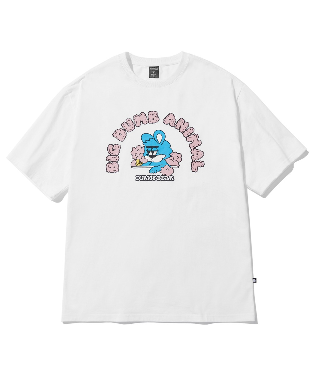 [사은품] BATH DUMBY T-SHIRT (WHITE) [LBPMCTA459MWHA]