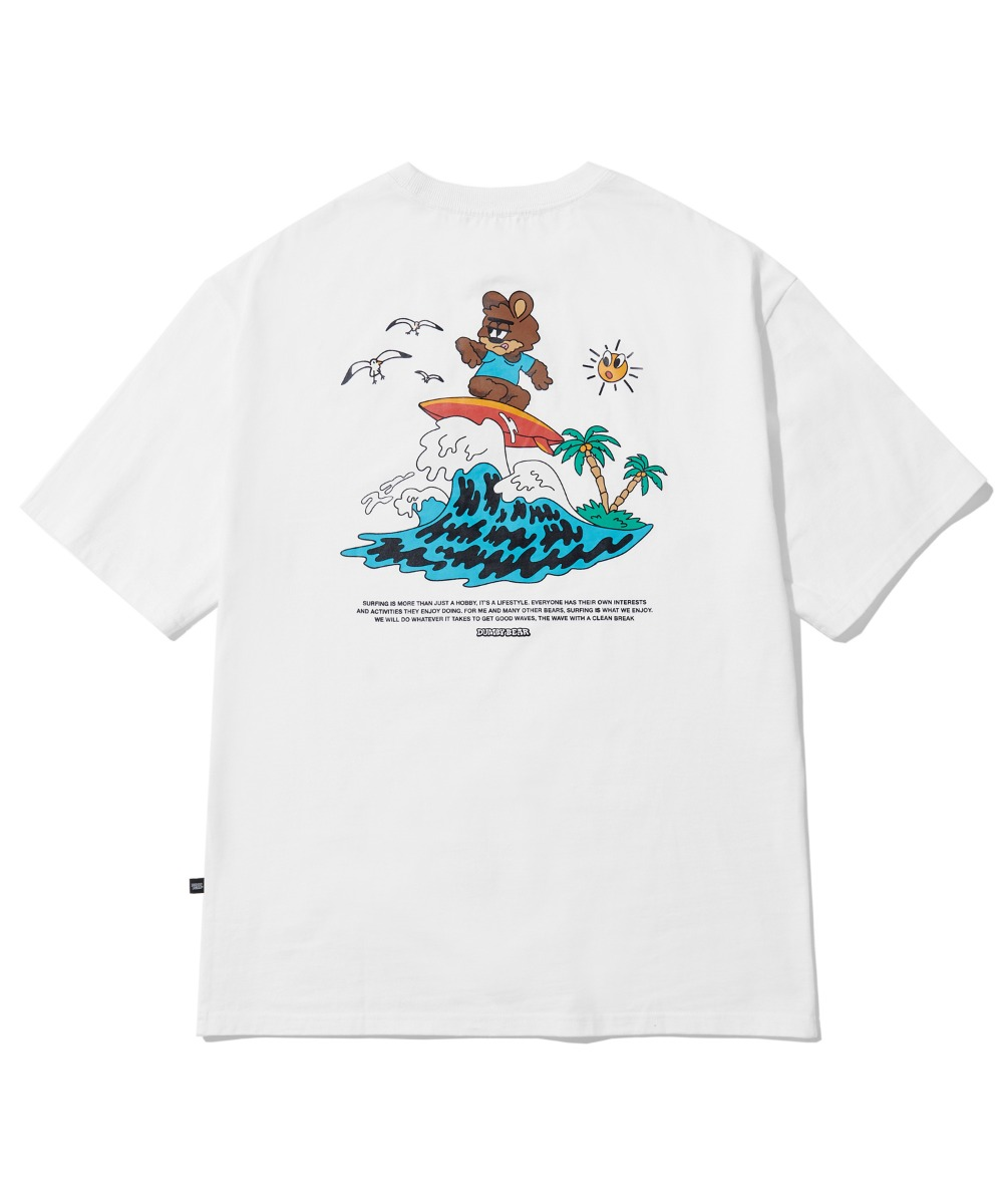 [사은품] SURFING DUMBY T-SHIRT (WHITE) [LBPMCTA457MWHA]