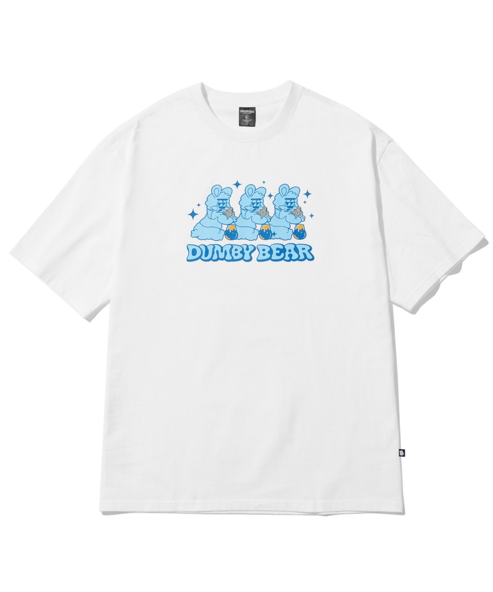 [사은품] TRIPLE DUMBY T-SHIRT (WHITE) [LBPMCTA461MWHA]