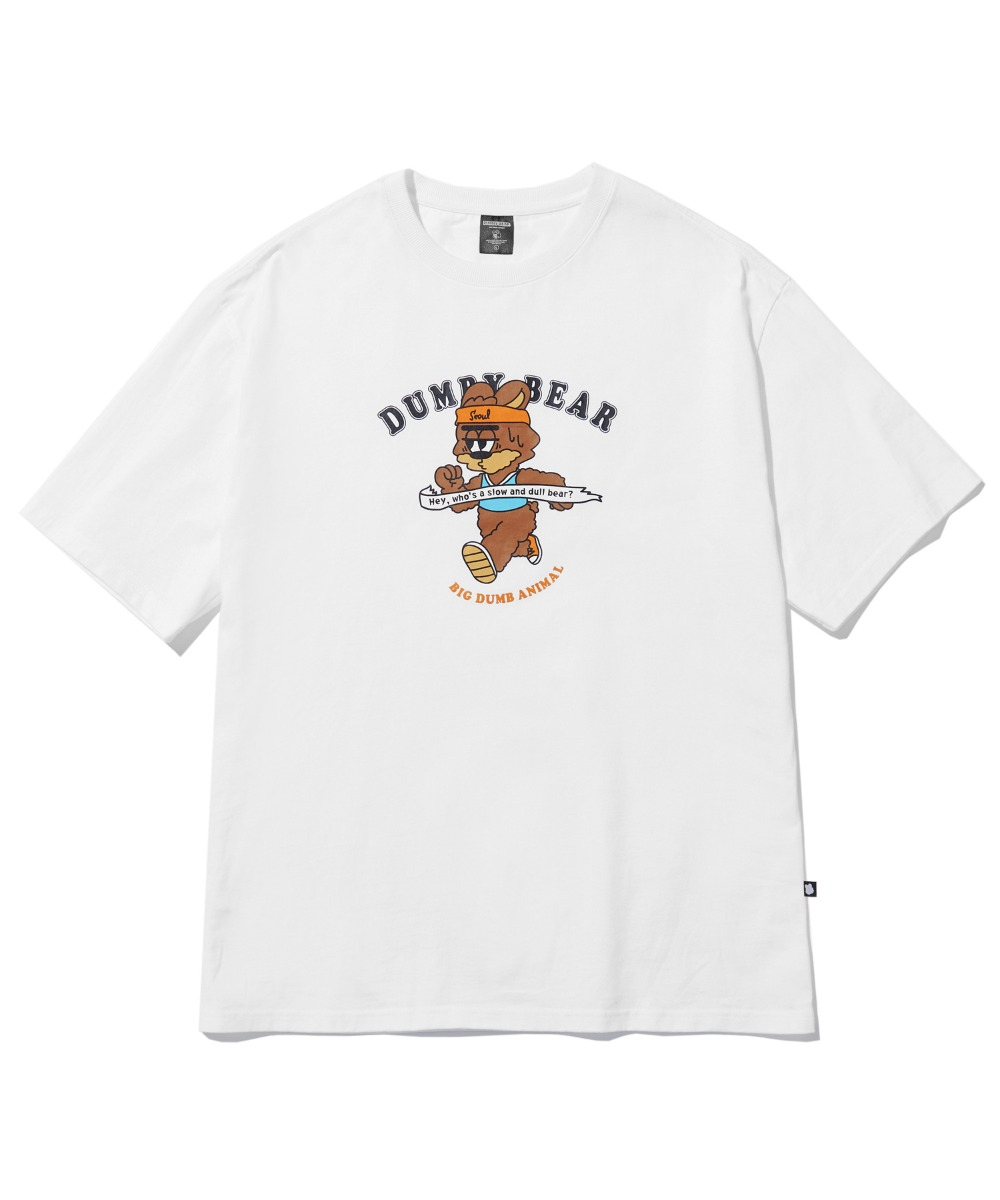 [사은품] RUNNING DUMBY T-SHIRT (WHITE) [LBPMCTA458MWHA]