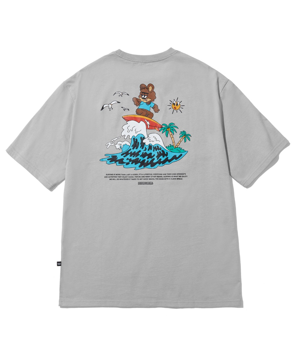 [사은품] SURFING DUMBY T-SHIRT (LIGHT GREY) [LBPMCTA457MGYL]