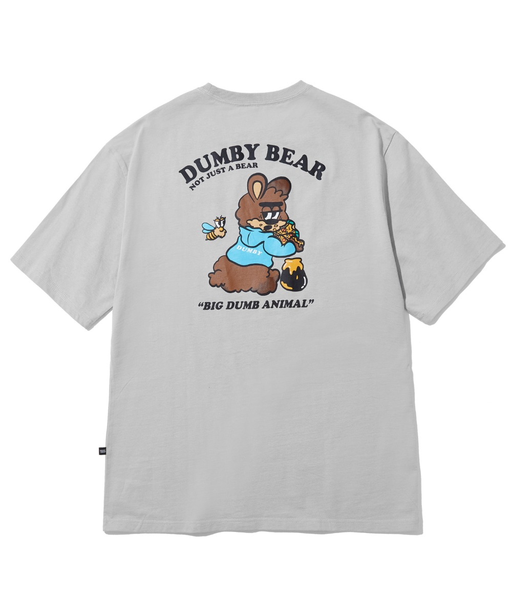 [사은품] EATING HONEY T-SHIRT (LIGHT GREY) [LBPMCTA455MGYL]