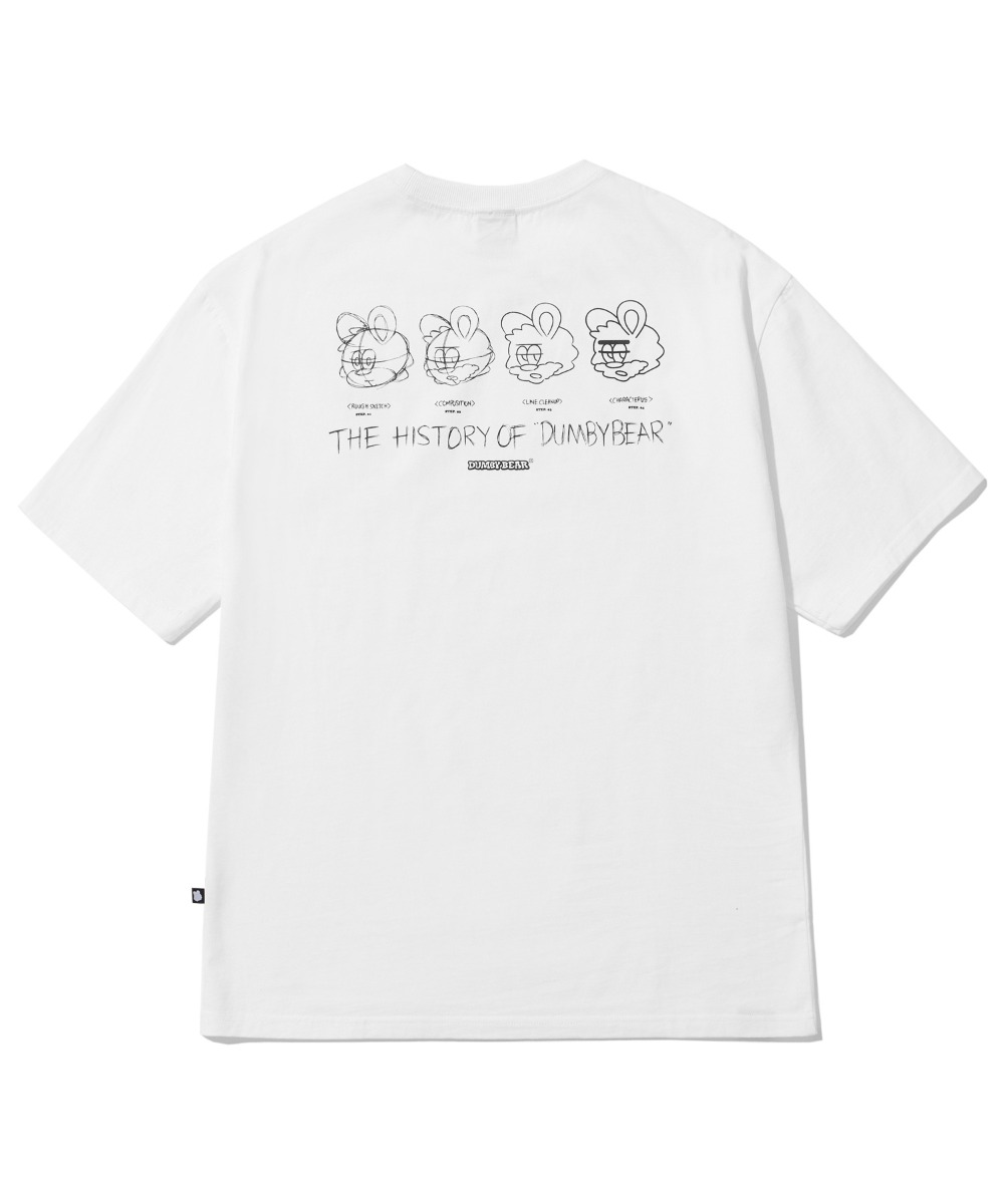 [사은품] BORN TO DUMBY T-SHIRT (WHITE) [LBPMCTA453MWHA]