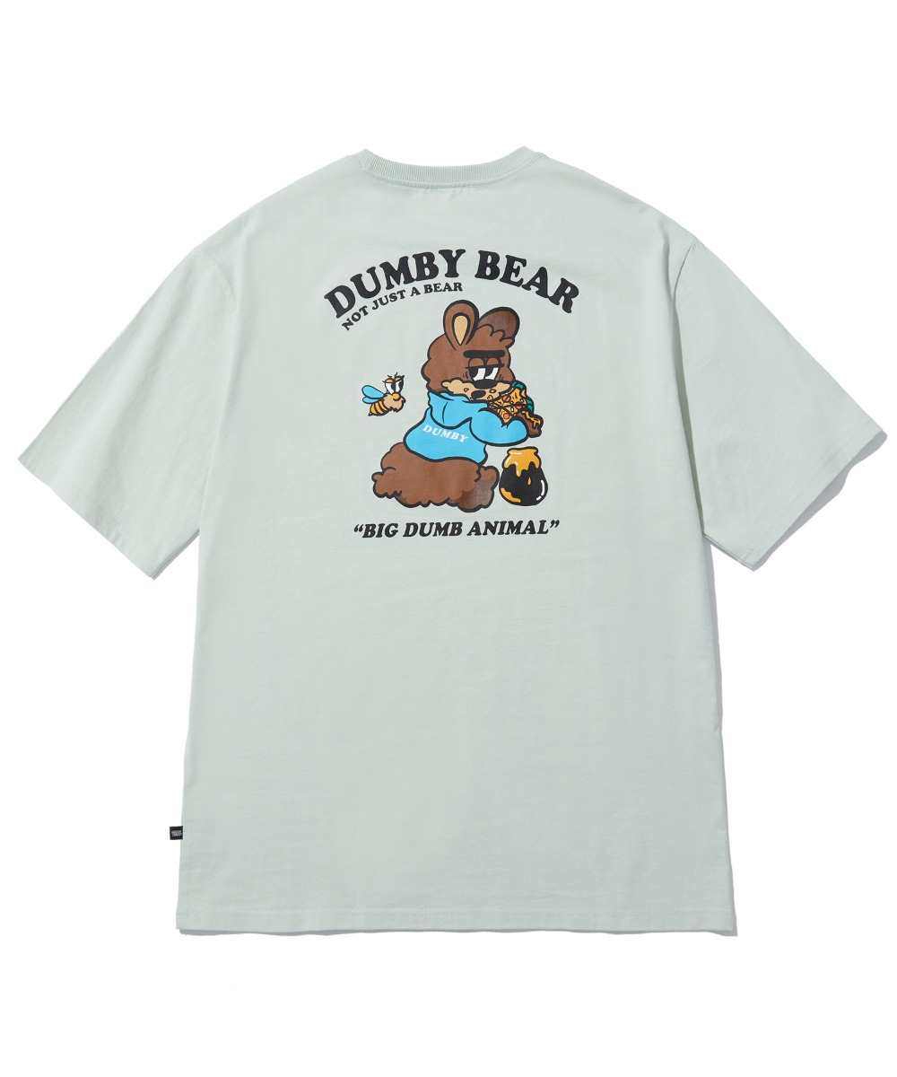 [사은품] EATING HONEY T-SHIRT (MINT) [LBPMCTA455MMIA]